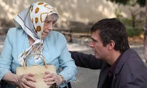 Jack Davenport as Patrick Melrose, with his ageing mother,  played by the late Margaret Tyzack, in her final role in the  2011 production of Mother's Milk, directed by Gerry Fox, who co-wrote the script with St Aubyn.