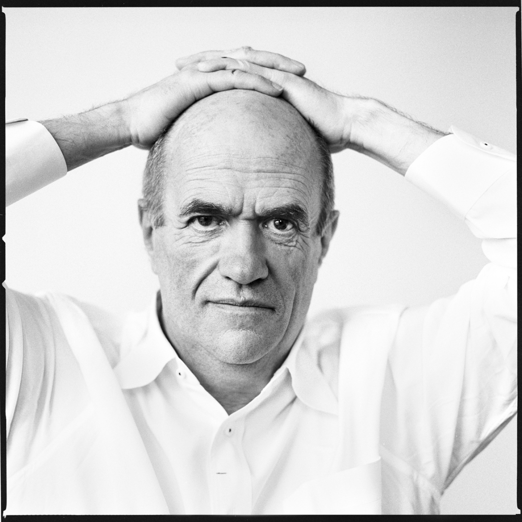 The Irish writer, Colm Toibin