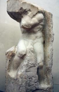 Michelangelo's prisoner pic